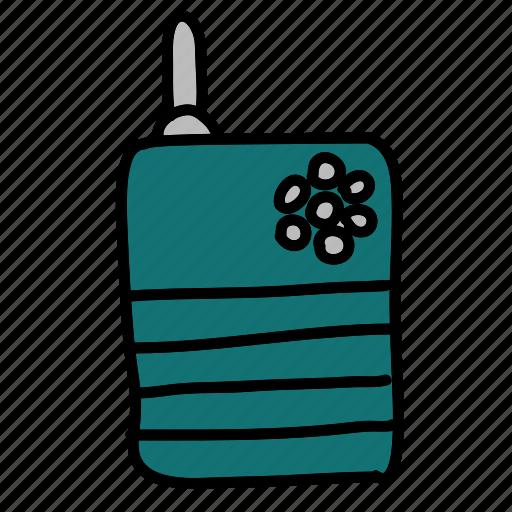 communication, contact, radio, security, talk, talkie, walkie icon