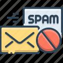 anti, anti spam, communication, correspondence, message, spam
