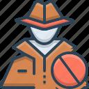 anti, anti theft, hacker, protection, theft icon