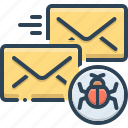 infected, infected mail, mail, malware, protection, vulnerability