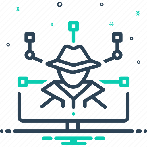 crime, cyber, cyber crime, hackers, ransomware icon