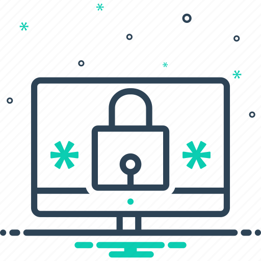 cybersecurity, manager, online, password, password manager, security icon