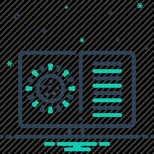 Biohazard, report, research, virus, virus report icon - Download on Iconfinder