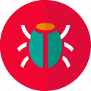 bug, danger, germs, issue, report, security, virus icon