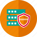 data security, database, hosting, network, privacy, server, storage icon