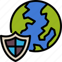 online, protection, shield, earth, protect, safety, security