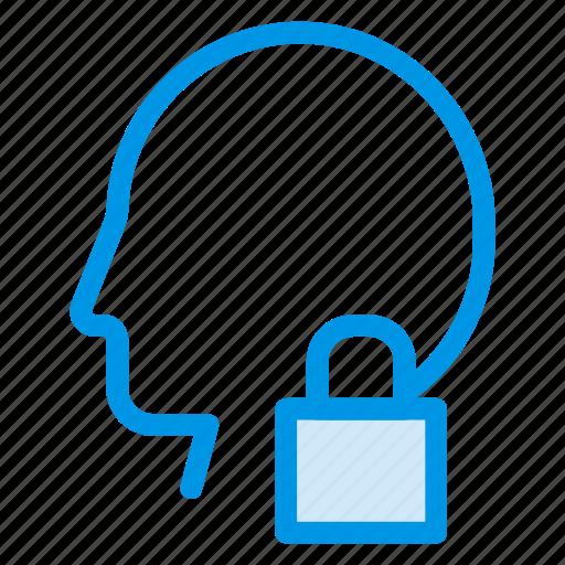 access, blocked, private, profileblock, secure, userblock, userlock icon