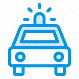 ambulance, car, emergency, medicine, police, transport, vehicle icon