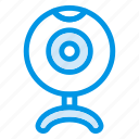 cam, device, skype, technology, video, web, webcam icon