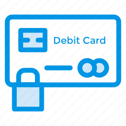 card, credit, debitcard, finance, payment, protection, security icon