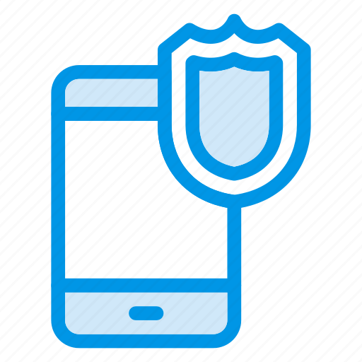 device, mobile, protect, protection, safety, security, shield icon