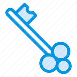 instrument, key, lock, locked, protection, secure, security icon