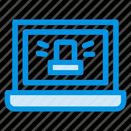 computer, laptop, macbook, online, security, technology, windows icon