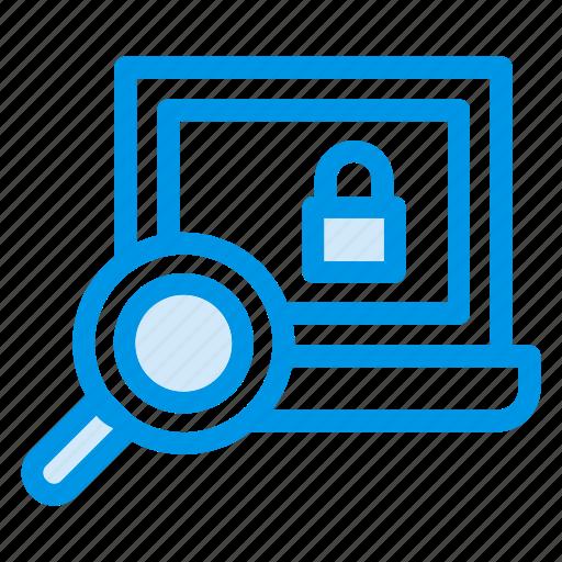 laptop, lock, mac, macbook, online, screen, search icon