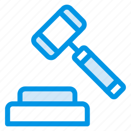 crime, government, hammer, justice, law, lawcourt, tool icon