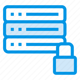 lock, locked, locker, protected, protection, server, storage icon