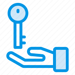 access, gester, key, lock, protect, protection, security icon
