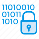 code, coding, lock, padlock, protect, security, userlock icon