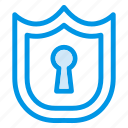 lock, locked, locker, private, protected, protection, shield icon
