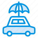 beach, guard, protection, rain, safety, umbrella, weather icon