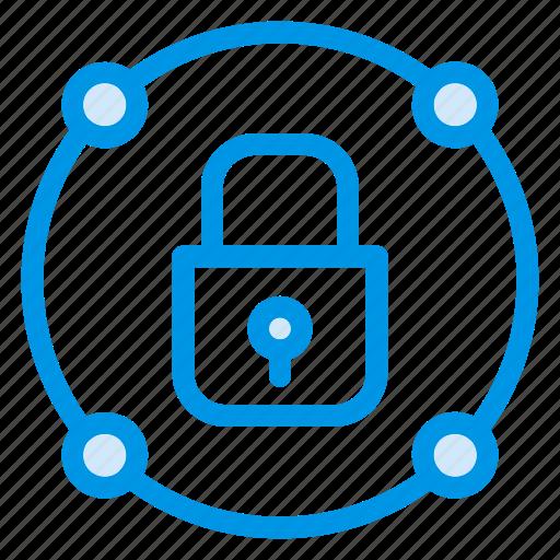block, locked, lockedfolder, private, protect, security, userblock icon