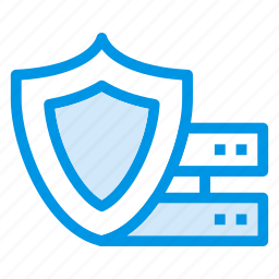 lock, protect, protection, safety, security, server, shield icon