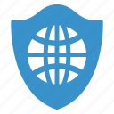 antivirus, browser, protection, security, shield, web, webprotection icon