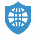 browser, internet, protection, safe, safety, security, shield icon
