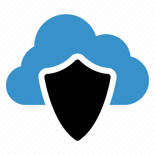 cloud, cloudcomputing, cloudsecurity, onlinesecurity, security, shield, technology icon
