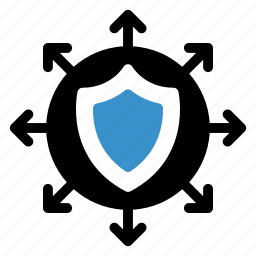 protect, protected, protection, safe, secure, security, shield icon
