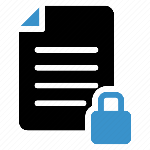 contract, lock, locked, padlock, protect, security, text icon