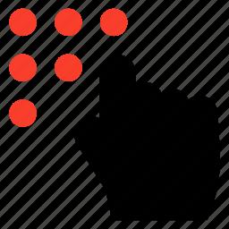 arrow, clicing, click, clicktarget, cursor, gesture, rightclick icon