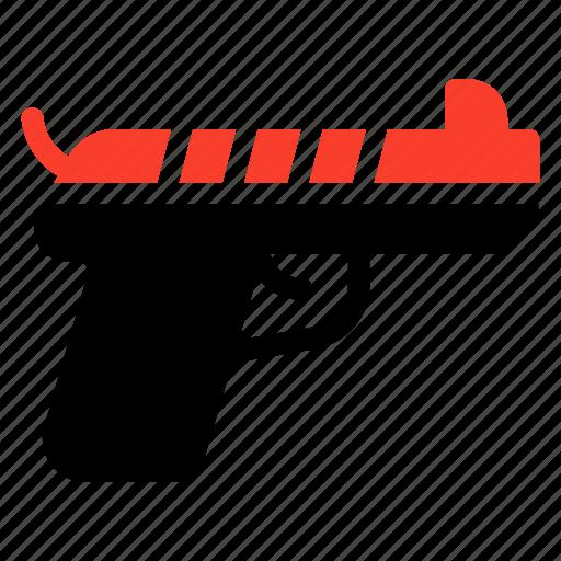 danger, fighter, fire, firegun, gun, lifeloss, pistol icon