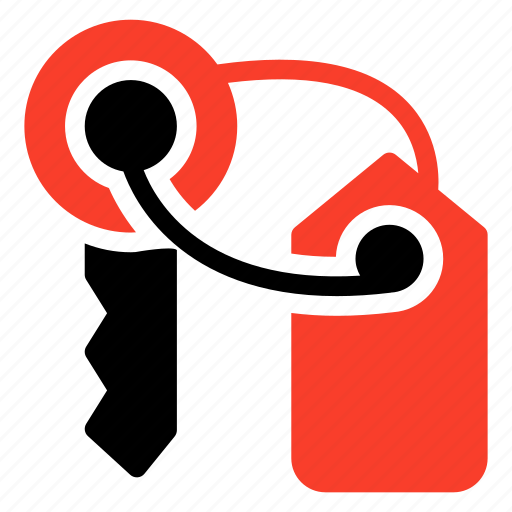 key, latchkey, lock, password, protect, secure, security icon