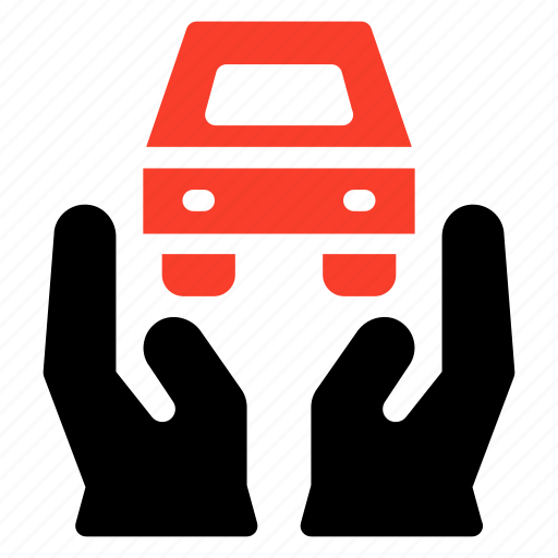 car, protected, protection, safe, safety, secure, transport icon