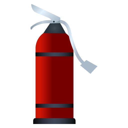 extingusher, fire, rescue, spray icon