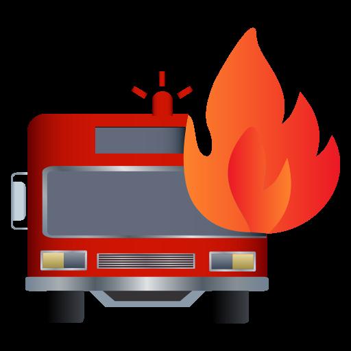 fire, firetruck, rescue, truck icon