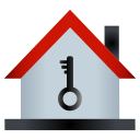 home, house, key icon