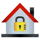 home, house, lock, password icon