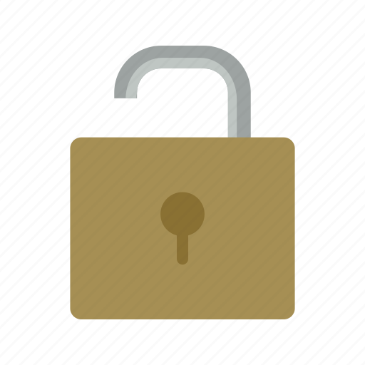 lock, open, padlock, protection, security, unlock icon