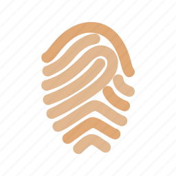 finger, fingerprint, print, thumb, thumbprint, unique icon