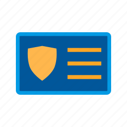 access, card, id, identity, protection, security icon