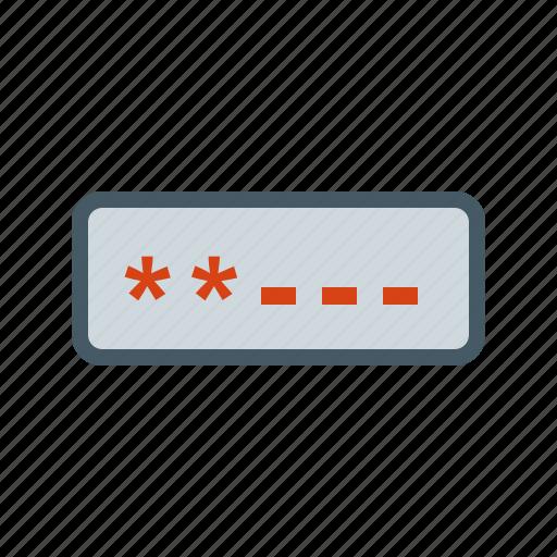 computer, internet, login, password, screen, security, username icon