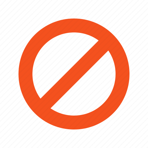 barrier, entry, no, red, road, sign, stop icon