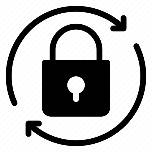 close, lock, private, protect, protected, reload, security icon