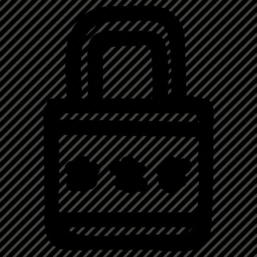 locked, lockedscreen, padlock, password, phonelocked, safe, secure icon