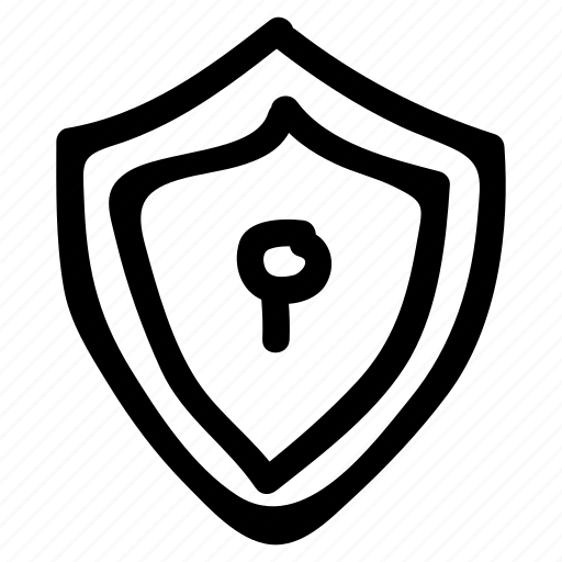 lock, protect, protection, safe, safety, security, shield icon