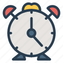 alarm, alarmclock, alert, clock, time, timer, watch icon