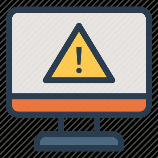 alert, atention, danger, error, exclamation, notification, problem icon
