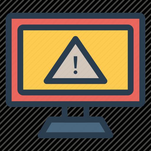alert, caution, error, exlamination, mark, notification, warning icon